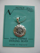 Sterling Silver Small All Seeing Eye Egyptian Templar Pendant New