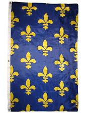3x5 Ancient Banner Banniere fleur de lis 1365 France French Flag 3'x5' Grommets