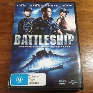 Battleship DVD R4 LIKE NEW FREE POST