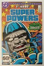 Super Powers #1 DC Comics Jack Kirby Darkseid New Gods Superman Flash 1985 WHITE