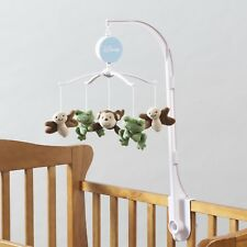 Little Bedding by Baby Safari Musical Mobile by NoJo- Frog, Monkey & Butterfly