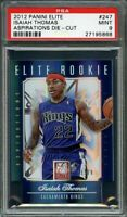 2012-13 panini elite aspiration die-cut #247 ISAIAH THOMAS celtics rookie PSA 9
