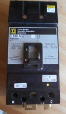 Square D KC24125BC 2 pole 125 amp 480v circuit breaker, excellent condition