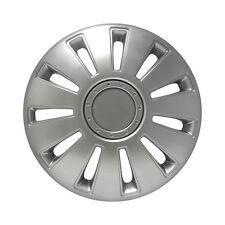 "14"" SILVERSTONE Silver Wheel trims Set of 4 Hub Caps Easy Clean"