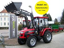 NEU! FOTON TB504 eco 50PS Allrad Traktor Schlepper Kabine Frontlader Druckluft