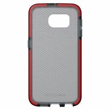 Tech21 Evo Check Case Cover for Samsung Galaxy S6 - Smokey/Red