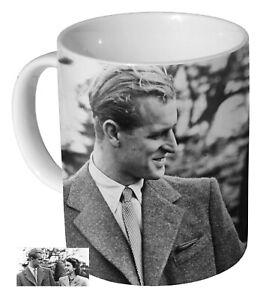 Prince Philip And Queen Elizabeth Young - Coffee Mug / Tea Cup