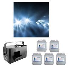 Chauvet DJ Lighting Hurricane Haze 4D Smoke Effect Machine & (5) Fog Fluid New