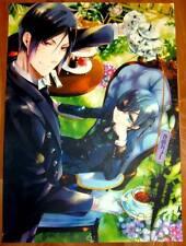 Poster A3 Kuroshitsuji Black Butler Sebastian Ciel Té
