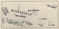 America's neglected colonial paradise, Micronesia Vintage silver print Ti