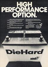 1977 Die Hard car Battery - Option - Classic Vintage Advertisement Ad D28