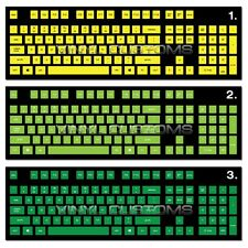 PC Keyboard Vinyl Decal Stickers For Mechanical Keyboard Cherry MX Key Caps A31