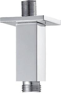 Pura Design KI031A Square 75mm Ceiling shower Arm in Chrome RRP £34.00 Save 20%
