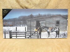 Running Late Horse Barn Farmers Lighted Canvas Wall Decor Sign