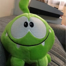 7'' Xmas Om Nom Frog Plush Toys Cartoon Anime Cushion Kid Game Stuffed Doll Gift