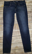 Womens AMERICAN EAGLE Jegging Super Stretch Dark Wash Jeans Sz.8 Regular