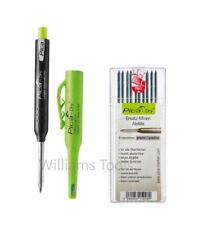 Pica Dry Graphite Automatic Pen/Pencil 3030 + 4030 REFILL Graphite Black pk10