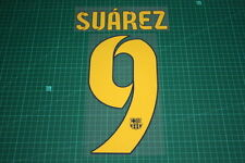 Flocage SUAREZ pour maillot BARCELONE patch football Barcelona shirt *