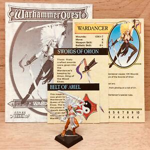 Classic Warhammer Quest Wardancer Character Pack No Box No Character Token 1995