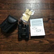 Promaster 8 X 21 375 ft/ 1000 yds Binoculars Black with Case and Lens Cloth