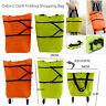 Portable Foldable Lightweight Shopping Trolley Cart Luggage Travel Wheels Bag