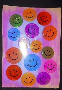 🦁🐱Sandylion BIG Abriss Smileys pearly glänzend  Scrapbooking Sticker 90er 🐱🦁