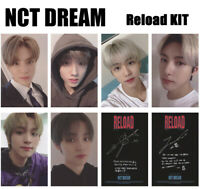 6pcs/set NCT DREAM Reload KIHNO Self-made Cards Photocard
