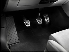 Genuine Audi A4 & A5 B9 Aluminium Pedal Covers for RHD & Manual Models