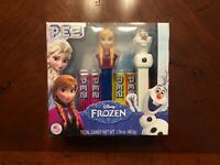 Brand New Frozen Anna & Olaf 2-Pack Pez Dispenser Set