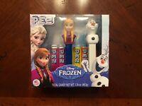 Brand New Frozen Anna & Olaf 2-Pack Pez Dispenser Set