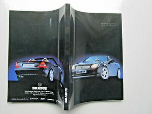 MERCEDES  BRABUS . 1 /1998  English  Deutsche / gros catalogue  280 pages
