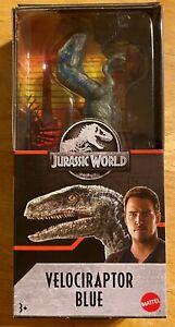 Jurassic World Velociraptor Blue Dinosaur Action Figure