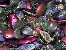 NEW 100pc Purple's Jesse James mixed SPACER beads lot loose RANDOMLY