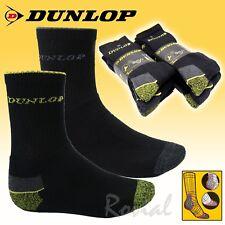 3-24 Paar Dunlop Herren Arbeitssocken Thermo Warme Sport Winter Socken Strümpfe