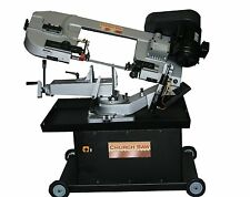 "Band saw metal cutting 7"" rounds, miter cutting - NEW Woodward Fab WFS712"