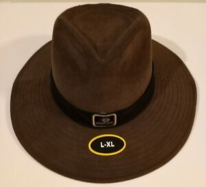 Men's Mossy Oak Dark Brown, Size L/XL, Safari Wide Brim Hat NEW