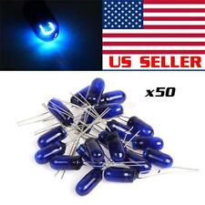 50)MINI BULBS LAMPS SPEEOMETER CLUSTER BACKLIGHT LIGHTING For GMC Blue12v-14v 95