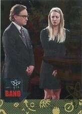 Big Bang Theory Seasons 6 & 7 Silver Parallel Base Card #67 Goodbye to Professo