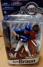 MLB Ryan Braun Elite Brewers Regular Blue Uniform by McFarlane JC