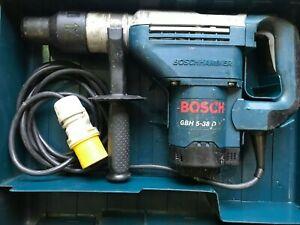 Bosch GBH 5-38 D Hammer Drill SDS MAX 110v KANGO