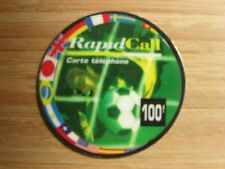 CARTE TELEPHONIQUE PHONECARD COUPE DU MONDE FOOTBALL 1998 FRANCE 98 WORLD CUP