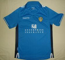Leeds United AFC / 2013-2014 Third - MACRON - JUNIOR Shirt / Jersey. XS LJ 155cm