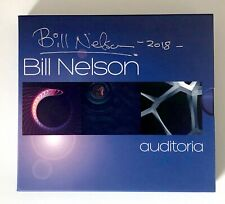 RARE !! Bill Nelson be bop deluxe  Auditoria 3 x CD signed box set Brand New !