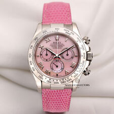 Rolex Daytona Beach Pink 116519 18K White Gold