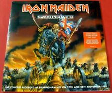 """Iron Maiden """"MAIDEN ENGLAND '88"""" 2013, New LIVE, 2 LP Picture Disc Set SEALED NM"""