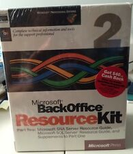 New Sealed Microsoft BackOffice Resource Kit Pt. 2