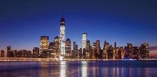 LED-Bild mit Beleuchtung, flackernd One World Trade Center, Timer 100x50cm