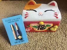 Lot of 5 Packs: Estee Lauder 3 Minute Beauty Technique Lips To Envy Sample,New~