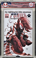 🔥🔥 Nightmarish Venomous Ponies EGS 9.9 not cgc Carnage #1 Homage Crain spidey