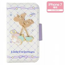New! Little Twin Stars iPhone 7 Case Cover w/ Charm Kawaii Sanrio f/s from Japan